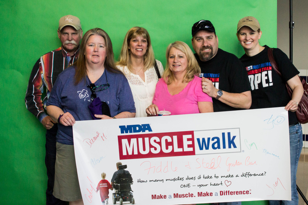 Our Muscle Walk Team!