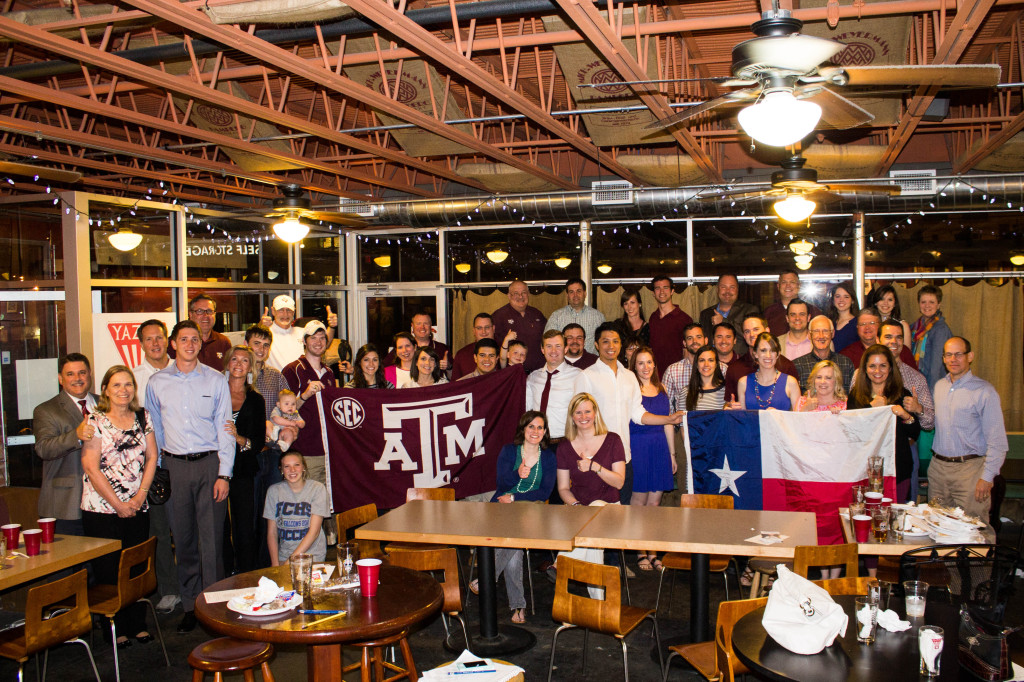 Middle Tennessee Aggie Muster attendees