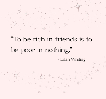 rich in friends