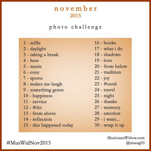 November Image Challenge