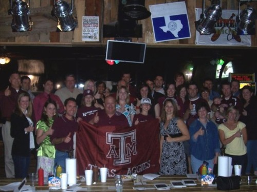 Aggie Muster 2008 -- Mickey Roos in Franklin, TN