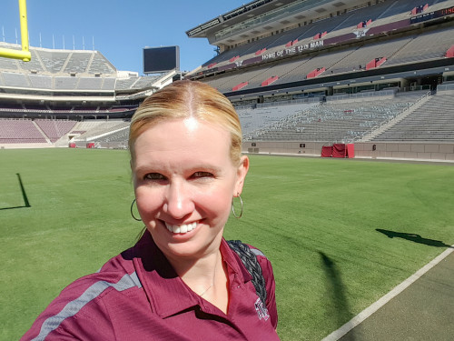 So in my planning of the events around Vandy, I went to campus and visited the newly renovated Kyle Field.