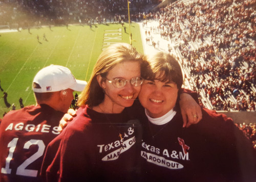 1999 Texas A&M vs Texas Game with Lindsey